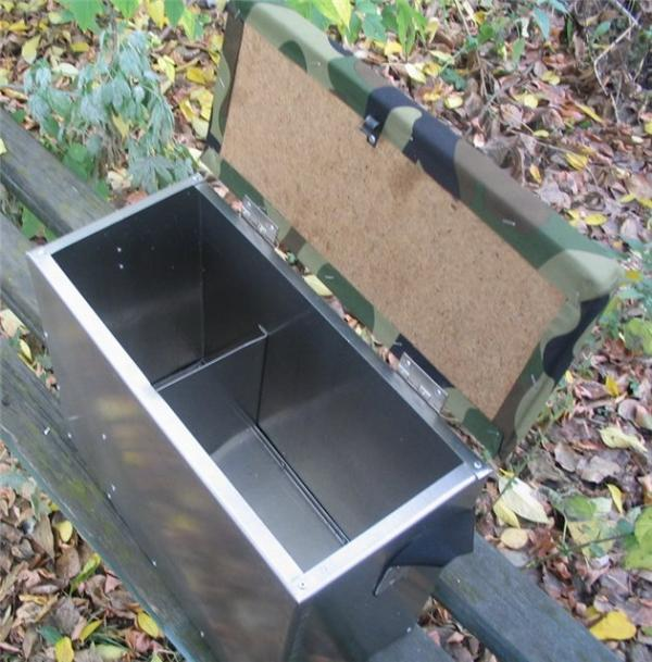 Зимний ящик для рыбалки своими руками фото